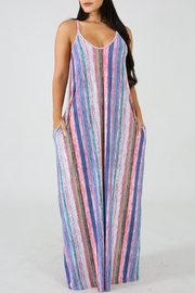 Good Time Stripe Maxi Dress - Product Mini Image