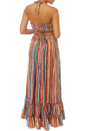 luxxel Stripe Maxi Dress - Front full body