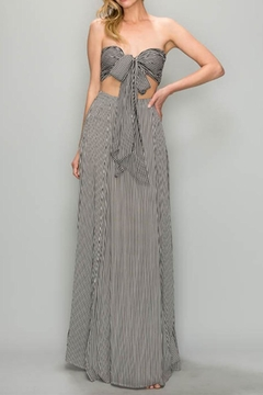 Shoptiques Product: Stripe Maxi Skirt