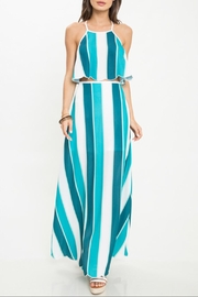 Latiste Stripe Maxi Skirt-Set - Product Mini Image