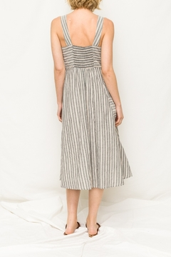 Mystree Stripe Midi Dress - Alternate List Image