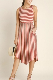 Blu Heaven Stripe Midi Dress - Product Mini Image