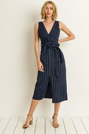 Bio Stripe Midi Dress - Product Mini Image