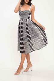 L'atiste Stripe Midi Dress - Product Mini Image