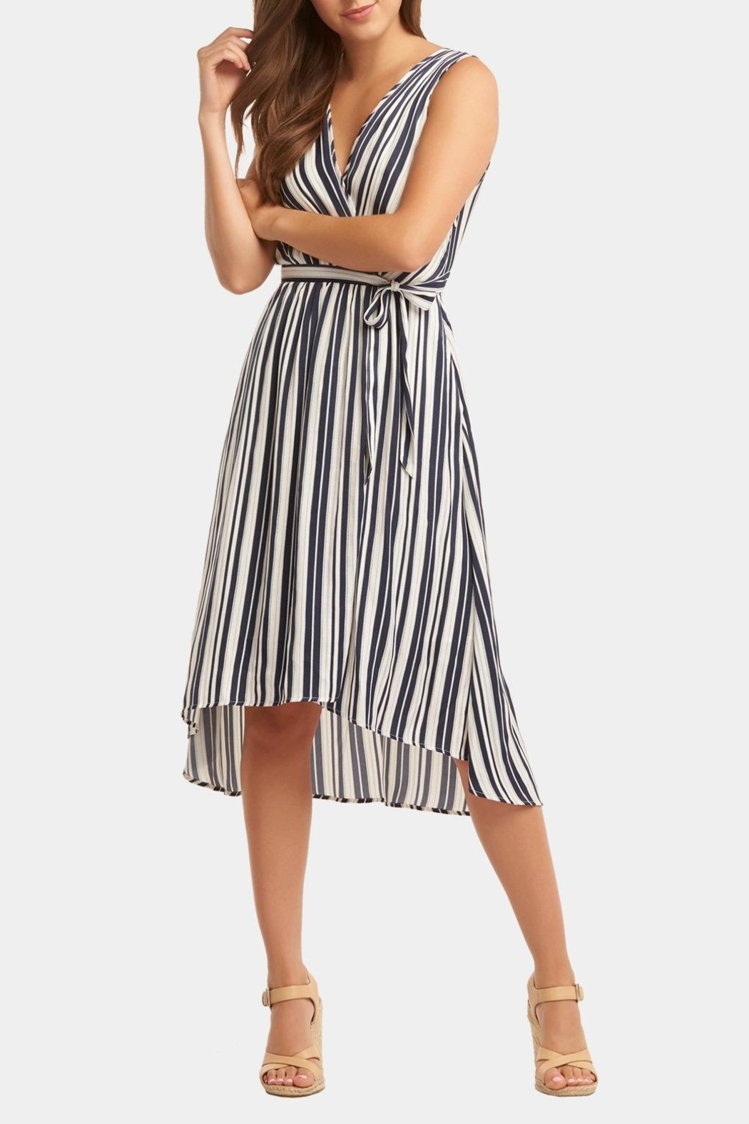 Tart Collections Stripe Midi Dress - Main Image
