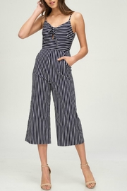 Pretty Little Things Stripe Midi Jumpsuit - Product Mini Image