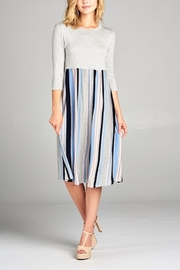 Lyn-Maree's  Stripe Midi - Product Mini Image