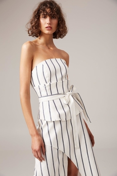 C/MEO COLLECTIVE Stripe Mini Dress - Product List Image