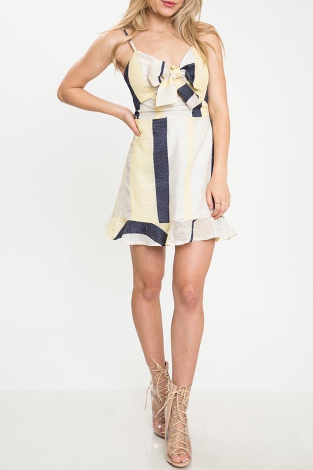 Latiste Stripe Mini Dress - Main Image