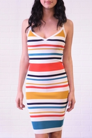 Better Be Stripe Mini Dress - Product Mini Image
