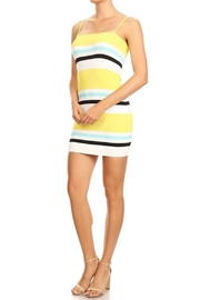 settle down Stripe Mini Dress - Product Mini Image