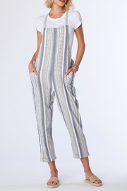 Bobi Stripe Overall - Front cropped