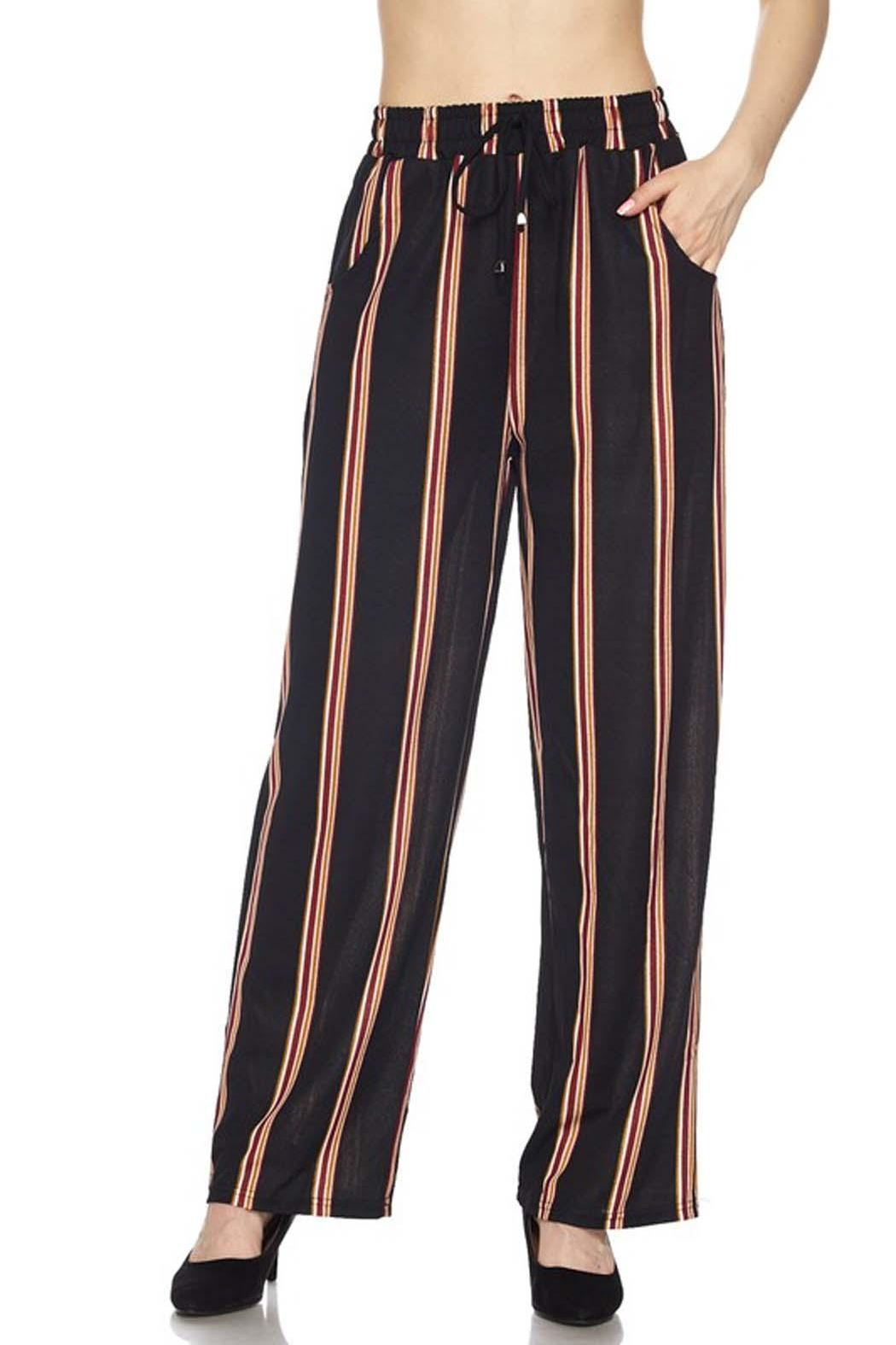 635b39452e2 ambiance apparel Stripe Palazzo Pant from New York by Avenue A ...