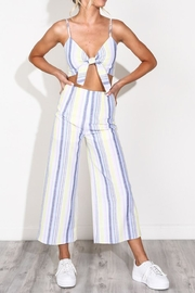 blue blush Stripe Pant Set - Product Mini Image