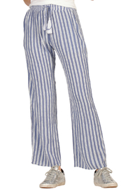Elan Stripe pants with elastic waist band - Product Mini Image