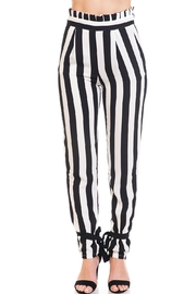Do & Be Stripe Paperbag Pants - Product Mini Image