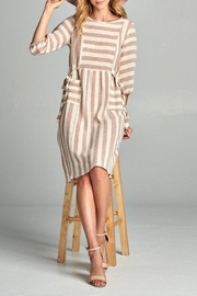 Hailey & Co Stripe Pocket Dress - Product Mini Image