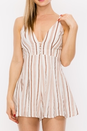 Favlux Stripe Romper - Product Mini Image