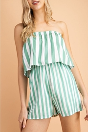 lelis Stripe Romper - Product Mini Image