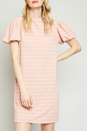 Hayden Los Angeles Stripe Ruffle Sleeve - Product Mini Image