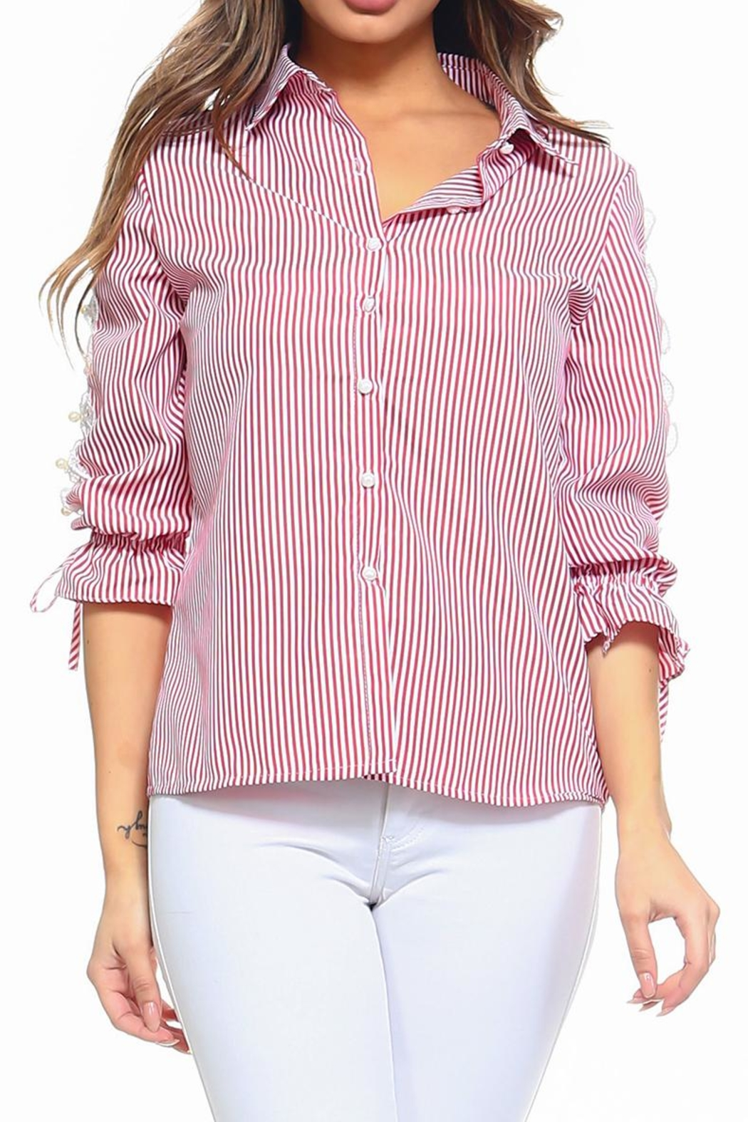 Passport Stripe Shirt - Main Image