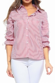 Passport Stripe Shirt - Front cropped