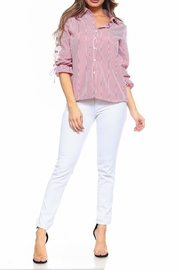 Passport Stripe Shirt - Front full body