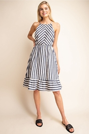 Gilli  Stripe Short Dress - Product Mini Image