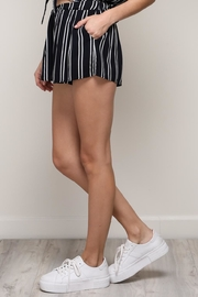 Mustard Seed Stripe Shorts - Front full body