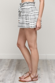 Mustard Seed Stripe Shorts - Front cropped
