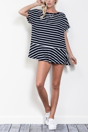 Wishlist Stripe Shortsleeve Tunic - Product Mini Image