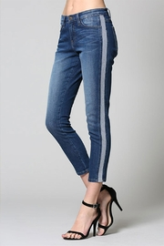 Flying Monkey Stripe Skinny Denim - Product Mini Image