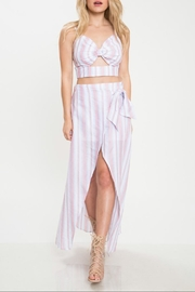 Latiste Stripe Skirt Set - Product Mini Image
