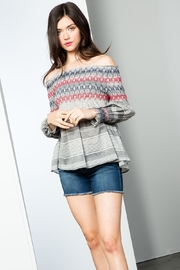 THML Clothing Stripe Smocked - Product Mini Image