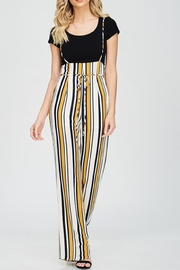 Emory Park Stripe Strap Jumpsuit - Product Mini Image