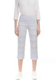 Charlie B Stripe Stretch Pant - Product Mini Image