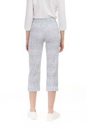 Charlie B Stripe Stretch Pant - Front full body