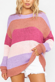 Show Me Your Mumu Stripe sweater - Front cropped