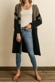 dress forum Stripe Sweater Cardigan - Product Mini Image