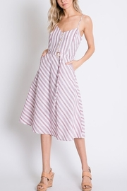 Lyn-Maree's  Stripe Sweetheart Midi - Product Mini Image