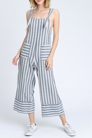 storia Stripe Tank Jumpsuit - Product Mini Image