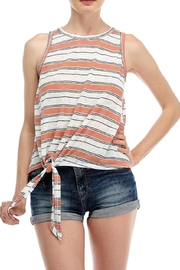 All In Favor Stripe Tank Top - Front cropped