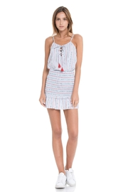 After Market Stripe Tank W/ Tassel - Product Mini Image