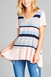 Lyn-Maree's  Stripe Tee - Product Mini Image