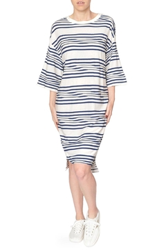 Native Youth Stripe Tee Dress - Product List Image