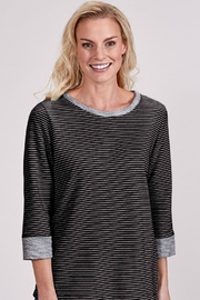 Fresh Produce Stripe Terry Sweatshirt - Product Mini Image