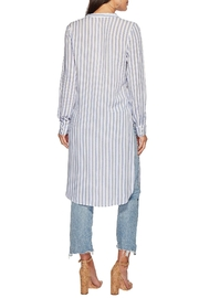 Bishop + Young Stripe Tie-Front Tunic - Side cropped
