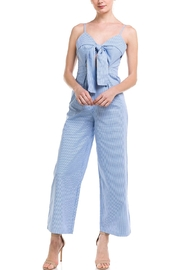 The Clothing Co Stripe Tie Jumpsuit - Product Mini Image