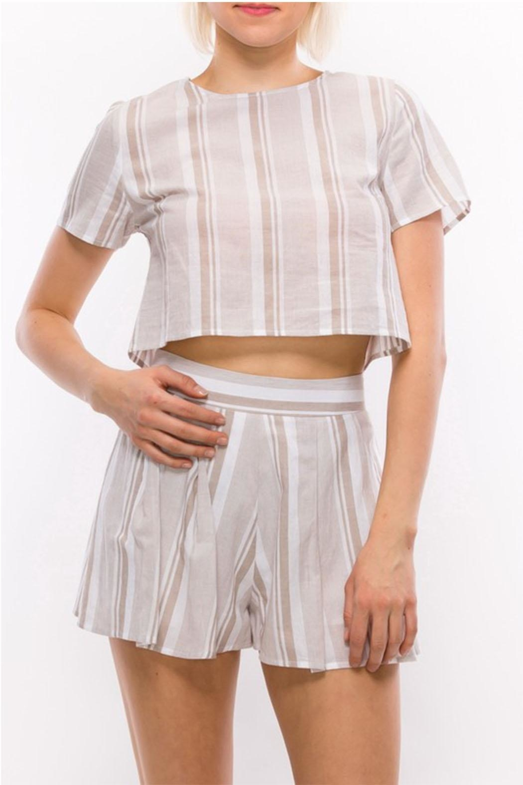HYFVE Stripe Top - Front Cropped Image
