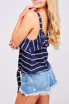 Peach Love California Stripe Top - Alternate List Image